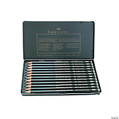 Faber-Castell 9000 Graphite Sketch Pencil Set of 12, 8B-2H