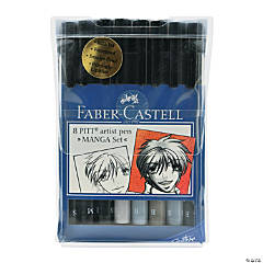 Faber-Castell Manga Pen Sets Basic