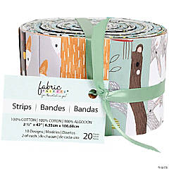 Fabric Jellies  20/Pkg-Forest Friends