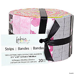 Fabric Jellies 20/Pkg-Summertime Paris