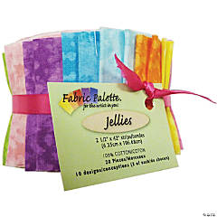 Fabric Jellies  20/Pkg-Top Textures