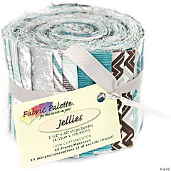 Fabric Jellies20Pk-Mel Floral Multi