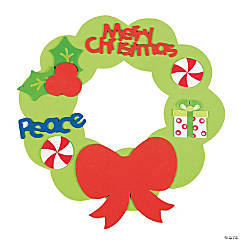 Fabulous Foam Christmas Wreaths