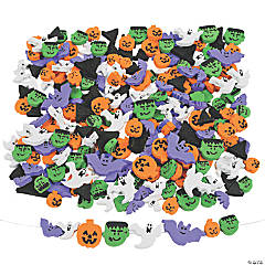 500 Fabulous Foam Halloween Bead Assortment