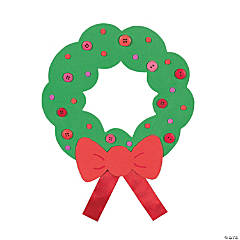 Fabulous Foam Jumbo Holiday Wreaths
