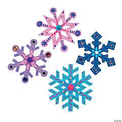 Fabulous Foam Jumbo Snowflakes