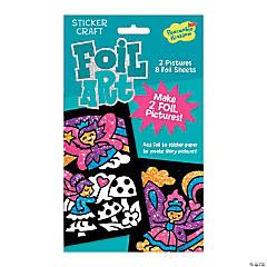 Fairies Foil Art Sticker Pack