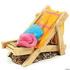 Fairy Garden Beach Chair W/Towel/Hats-