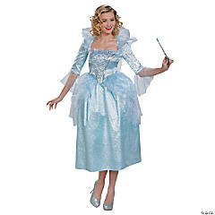 Fairy Godmother Cinderella Movie Costume for Women
