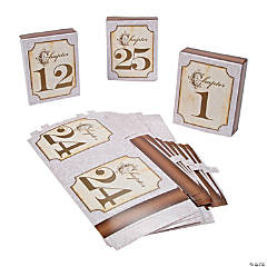 Fairy Tale Wedding Table Numbers