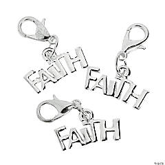 Faith Charms with Lobster Clasp
