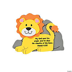 Faith Lion Magnet Craft Kit