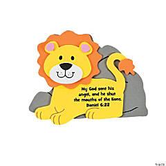 Faith Lion Magnet Craft Kit