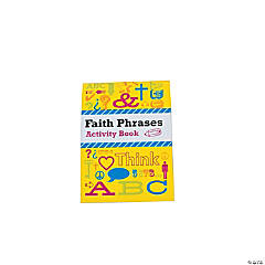 Faith Phrases Activity Books