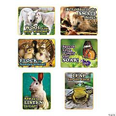 Faith Spring Animals Poster Set