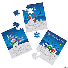 Faithful Snowmen Puzzles