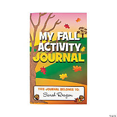 Fall Activity Journals