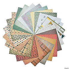 Fall Basic Pattern Paper Assortment