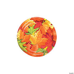 Fall Breeze Dessert Plates