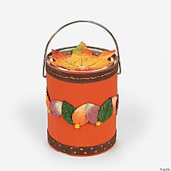 Fall Bucket Idea