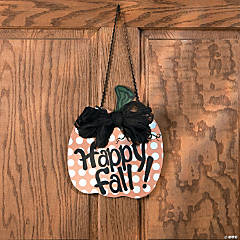 Fall Door Pumpkin Idea