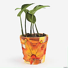Fall Festive Flower Pot Idea