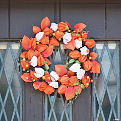 Fall Floral Pod Wreath