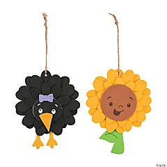 Fall Flower Ornament Craft Kit