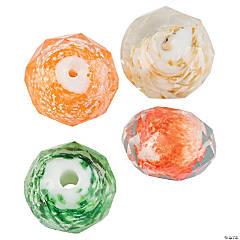 Fall Glitter Beads - 12mm