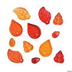 Fall Leaf Beads