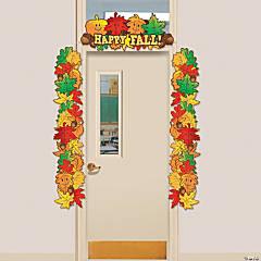 Fall Leaf Door Border