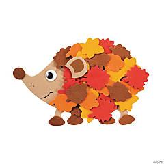 Fall Leafy Hedgehog Magnet Craft Kit