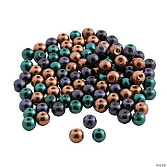 Fall Pearl Bead Assortment - 6mm