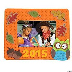 2015 Fall Photo Frame Magnet Craft Kit