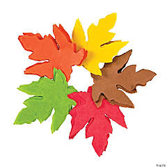Fall Tissue Paper Leaves