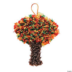 Fall Tree Crinkle Tissue Paper Craft Kit