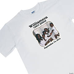 Family Reunion Custom Photo T-Shirt For Adults