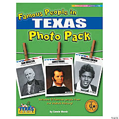 Famous People from My State's History Photo Pack - Texas