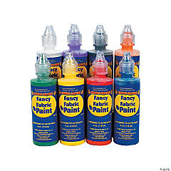 Fancy Fabric Paint Set