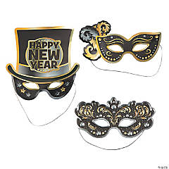 Fancy New Year's Masks