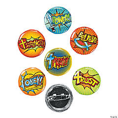 Fantastic Faith Mini Buttons