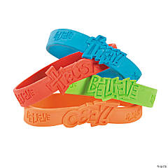 Fantastic Faith Rubber Bracelets