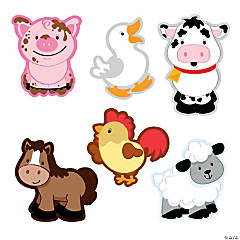 Farm Animal Bulletin Board Cutouts