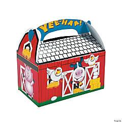 Farm Party Favor Boxes