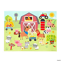Farm Sticker Scenes