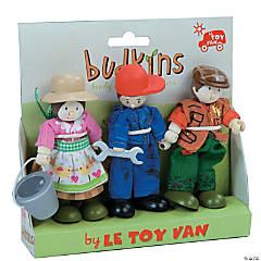 Farmers Budkins Character Dolls