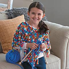 Fashion Angels Poncho Knitting Kit