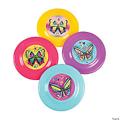Fashion Butterfly Flying Discs