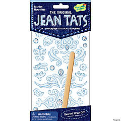 Fashion Flourishes Jean Tats