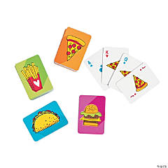 Fast Food Mini Playing Cards